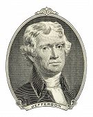 Portrait Of  Thomas Jefferson