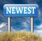 newest product model release hot news headlines new release road sign