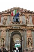 Main Entrance Of Milan Public University