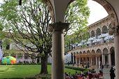 University Of Milan Courtyard