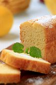 picture of pound cake  - Sweet breakfast  - JPG