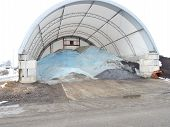 salt reserve for winter roads