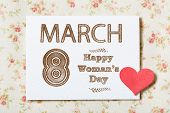 Happy Woman's Day March 8Th
