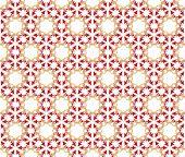 Arrows Flowers Pattern