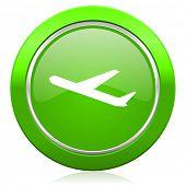 deparures icon plane sign