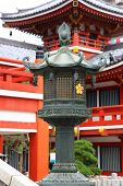 Historic Osu Kannon temple in Nagoya city