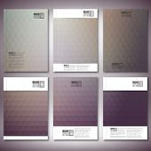 Abstract background, triangle design vector. Brochure, flyer or report for business, templates vecto