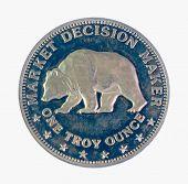 Silver Bear coin