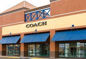 Coach Retail Store Exterior