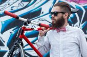 Hipsters And Bikes