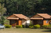 resort and home stay style in mountain village northern of Thailand