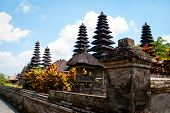 Typical Roofs Of Hindu Temple In Bali