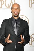 LOS ANGELES - JAN 24:  Common at the Producers Guild of America Awards 2015 at a Century Plaza Hotel on January 24, 2015 in Century City, CA