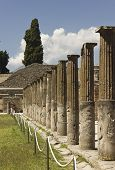 Pompei Ancient Roman Ruins