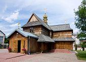 Wooden Church In Chortkiv