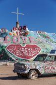 Salvation Mountain And Art Car