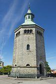 Exterior of the Valberg tower in Stavange,r Norway.