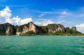 Rock island in Thailand