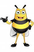 Chubby Bee Character