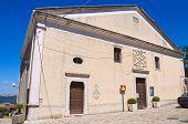 Church of Madonna delle Grazie. Pietragalla. Basilicata. Italy.