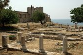 Ancient Heraion on the Greek island of Samos