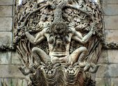 Devil Stone sculpture - Escultura al demonio
