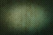 Green Metal Rhombus Shaped Texture