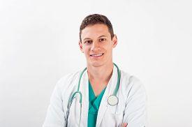 picture of scrubs  - Medical portrait - JPG