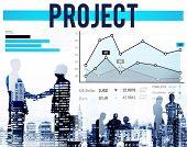 image of enterprise  - Project Enterprise Team Progress Strategy Concept - JPG