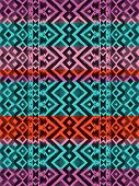 image of aztec  - Aztec tribal mexican seamless pattern - JPG