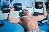 pic of dumbbells  - Strength training with dumbbells - JPG