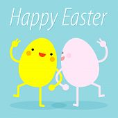 ������, ������: Easter Eggs Dance