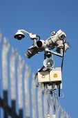 High-tech security monitoring
