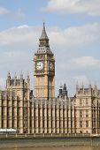 Big Ben y las casas del Parlamento, Londres, Inglaterra