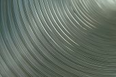 Inside An Aluminium Pipe