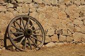 Stagecoach Wheel Shadow