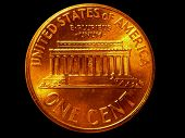 Usa One Penny Coin
