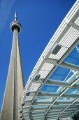 CN Tower in downtown Toronto