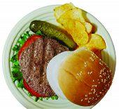 Burger_Chips Above