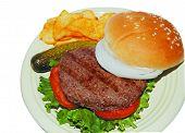 Burger_Chips