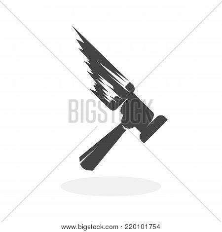 Thor hammer icon