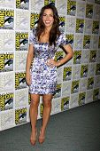 SAN DIEGO - JUL 21:  Sarah Shahi at the 2011 Comic-Con Convention at San Diego Convetion Center on J