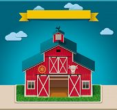 Vector barn XXL icon