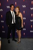 SAN DIEGO - JUL 23: Eric Balfour; Emily Rose at the SyFy/E! Comic-Con Party at Hotel Solamar in San