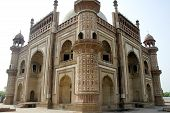 Corner View Of Safdarjung Tomb