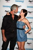 LOS ANGELES - JUL 23:  Stephen Lang, Rose McGowan arriving at the EW Comic-con Party 2011 at EW Comi