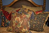 Colorful Arrangement Of Pillows