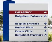 Medical Services Sign