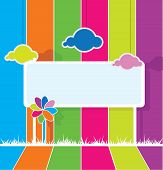 Colorful Billboard Background