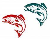Salmon Fish Mascot